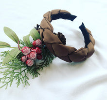 Load image into Gallery viewer, Braided satin headband