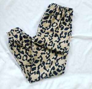 Leopard pants - jogger set