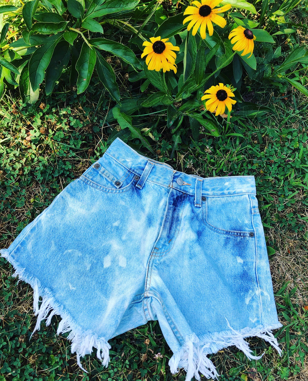 'Vintage with a touch of Boho' Shorts
