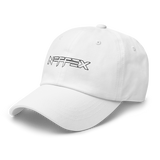 Neffex Logo Dad Hat - White