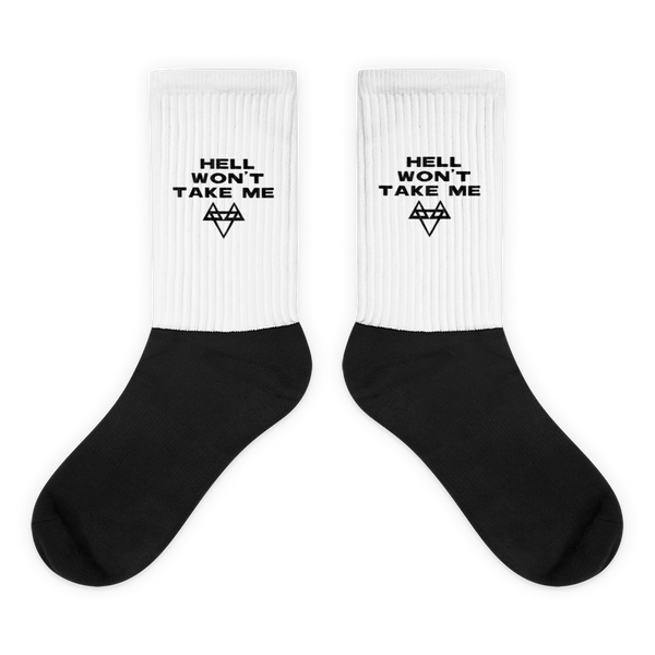 Hell Won't Take Me Socks