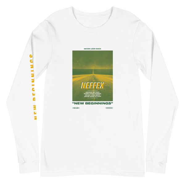 New Beginnings Road Long Sleeve - Green/Yellow