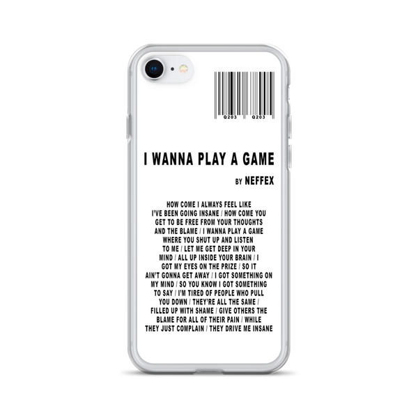 I Wanna Play A Game iPhone Case