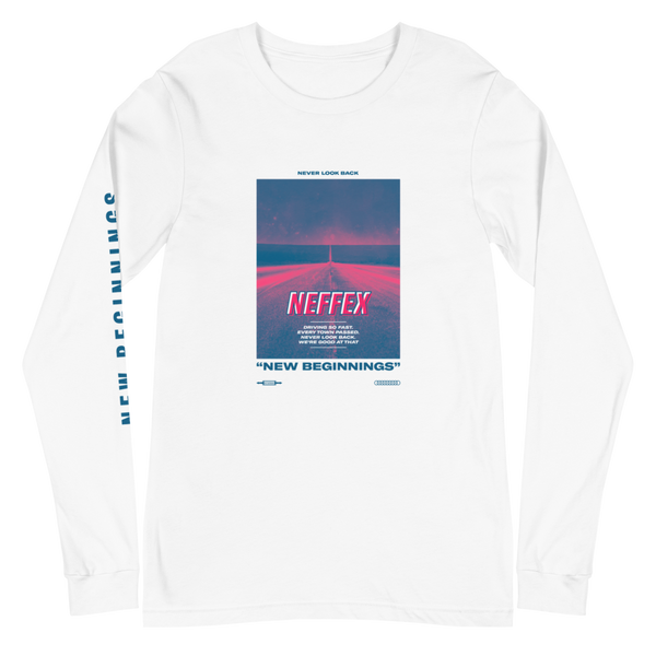 New Beginnings Road Long Sleeve - Blue/Pink