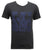 Men USA T-Shirt Short Sleeve D/Charcoal C-19