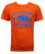 Men USA T-Shirt Short Sleeve Orange C-03