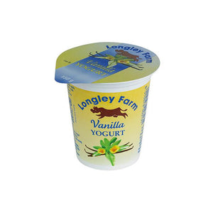 Longley Farm Vanilla Yogurt - Capital Wholesalers
