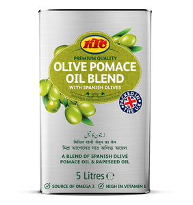 KTC Blended Pomace Olivie Oil - Capital Wholesalers