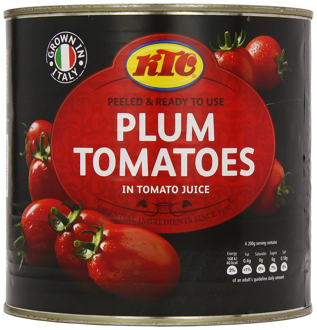 KTC Plum Tomatoes in Tomato Juice - Capital Wholesalers
