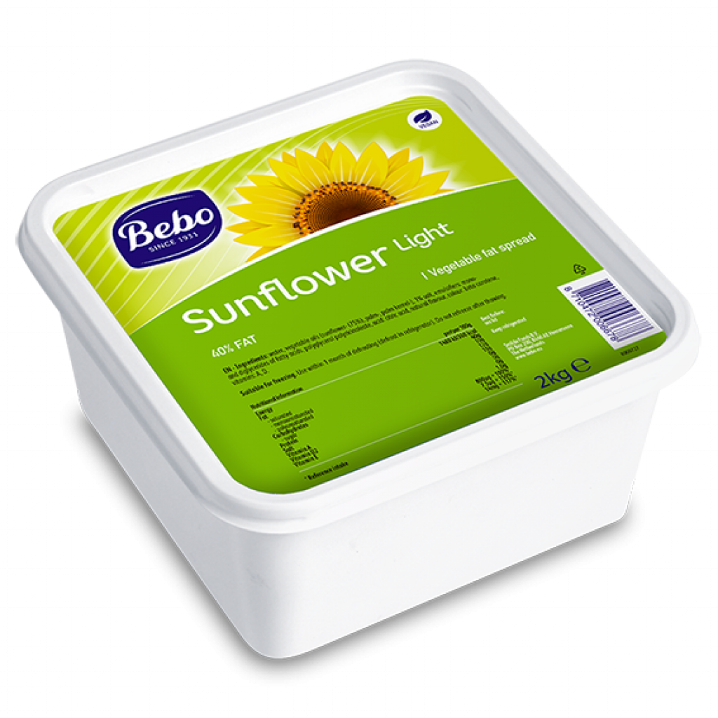 Vegan Sunflower Butter Light 2 kg - Capital Wholesalers