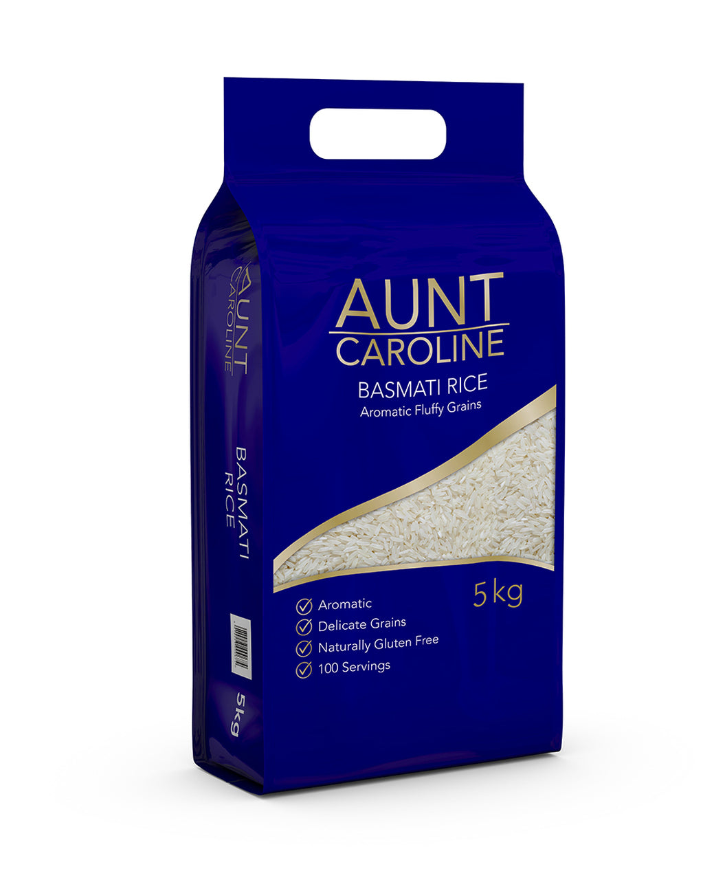 Aunty Caroline Basmati Rice 5 kg - Capital Wholesalers