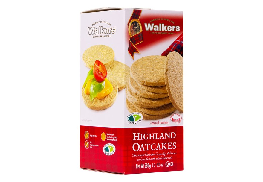 Walkers Highland Oatcakes - Capital Wholesalers