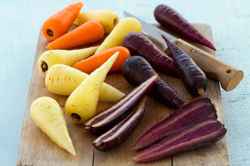 Tri-Colour Chantenay Carrots - Capital Wholesalers