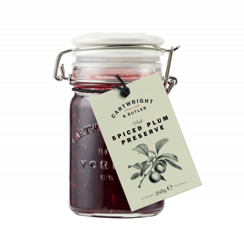 Spiced Plum Preserve, Cartwright & Butler (260g)