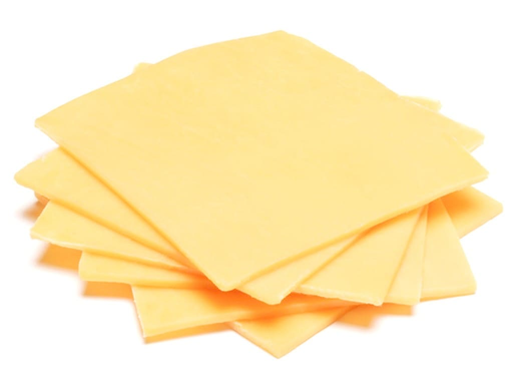 Mild Cheddar Cheese Slices