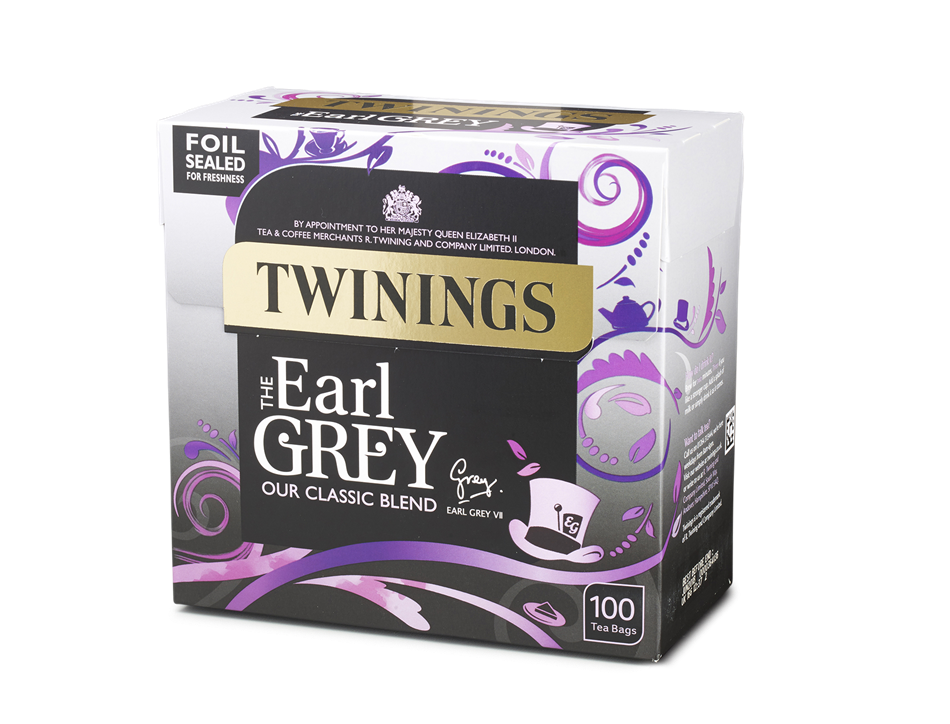 Earl Grey Tea, Twinings (100 bags)