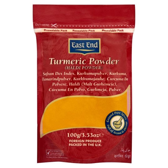 Ground Tumeric, East End (100g)