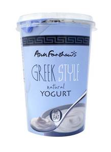 Natural Greek Yogurt, Ann Forshaw's (450g)