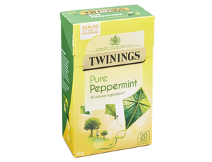 Pure Peppermint Tea, Twinings (20 bags)