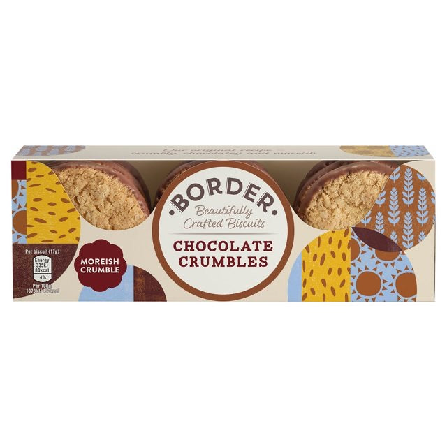 Borders Biscuits Chocolate Oat Crumbles - Capital Wholesalers