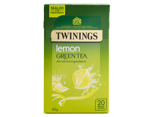 Green Tea & Lemon, Twinings (20 bags)