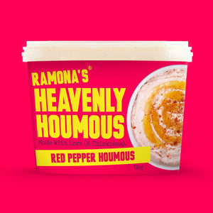 Red Pepper Heavenly Houmous, Ramona's Kitchen (750g)