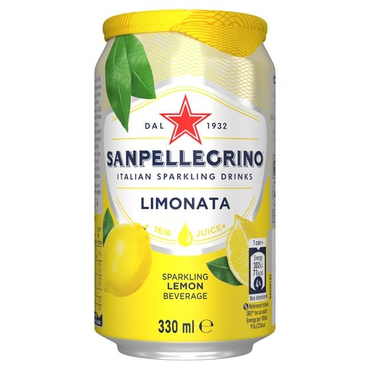 Sanpellegrino Sparkling Lemon 6x330ml - Capital Wholesalers