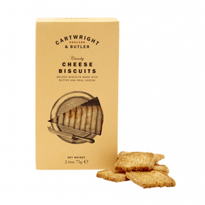 Cheese Biscuits, Cartwright & Butler (80g)