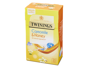 Camomile, Honey & Vanilla Tea, Twinings (20 bags)