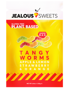 Tangy Worms, Jealous Sweets (40g)