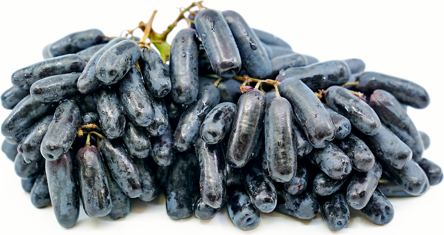 Lady Finger, Extra Sweet Black Grapes, Seedless (500g)
