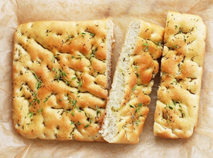 Focaccia, Local Bakery (500g)