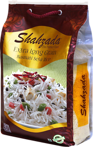 Long Grain Basmati Rice, Shahzada (5kg)
