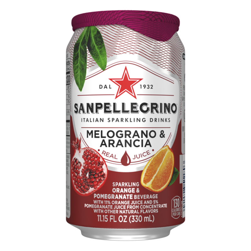 Orange & Pomegranate, Sanpellegrino (6x330ml)