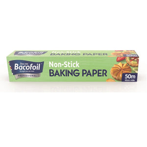 Non-Stick Baking Paper, Baco Professional (450mm x 50m)