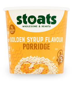 Golden Syrup Porridge Pot, Stoats (60g)