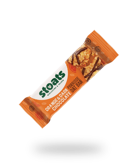 Orange & Dark Chocolate Oat Bar, Stoats (50g)