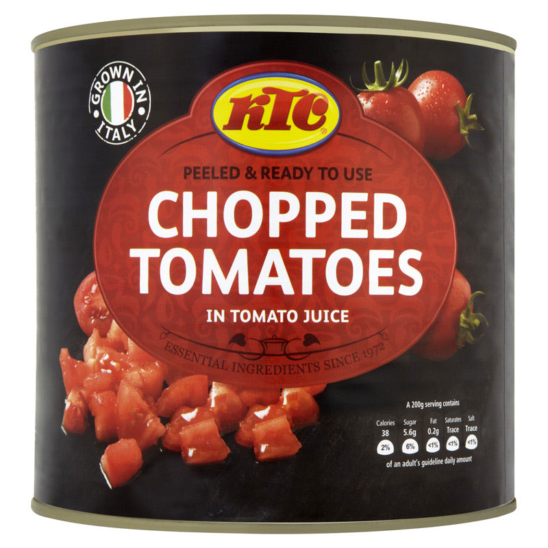 Chopped Tomatoes in Tomato Juice, East End (2.5kg)