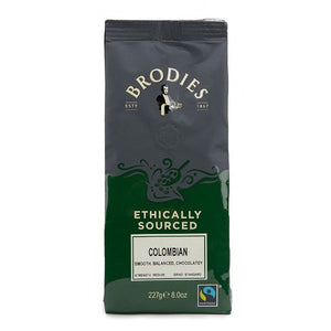 Fairtrade Colombian, Ground Coffee, Brodies (227g)