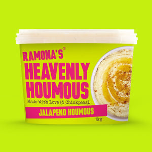 Jalapeño Heavenly Houmous, Ramona's Kitchen (750g)