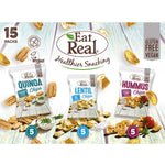 Load image into Gallery viewer, Mixed Flavour Multi-Pack, Hummus Lentil Quinoa Chips, Eat Real (15pk)