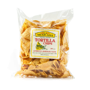 Authentic Large Salted Tortilla Chips, La Mexicana (500g)
