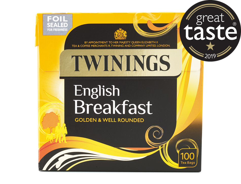 English Breakfast Tea, Twinings (100 bags)