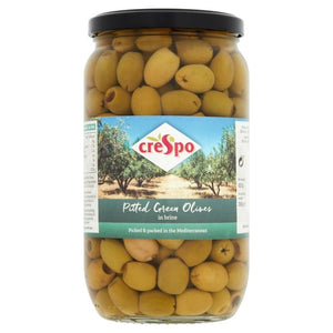 Pitted Green Olives, Crespo (907g)