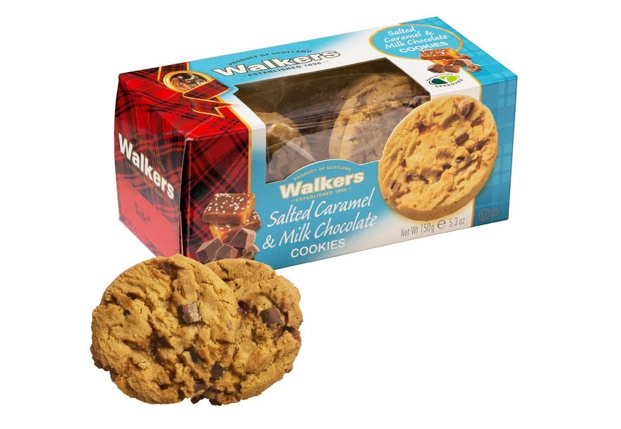 Walkers Salted Caramel & Milk Chocolate Biscuits - Capital Wholesalers