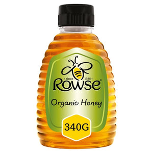 Rowse Organic Honey 340 g - Capital Wholesalers
