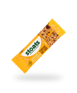 Banana & Multiseed Oat Bar, Stoats (45g)