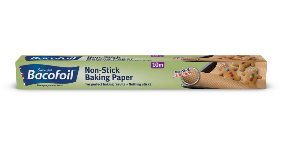 Non-Stick Baking Paper, Baco (380mm x 10m)