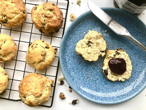 Luxury Fruit Scones Large, Local Bakery (pack of 2)