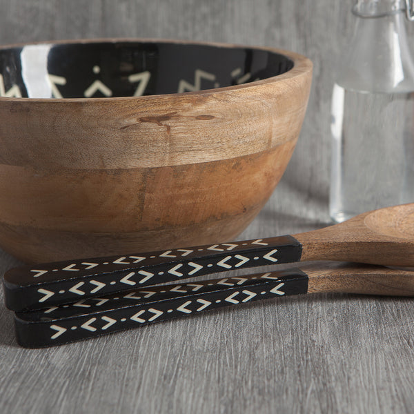 Ziggy Mango Wood Salad Servers Set